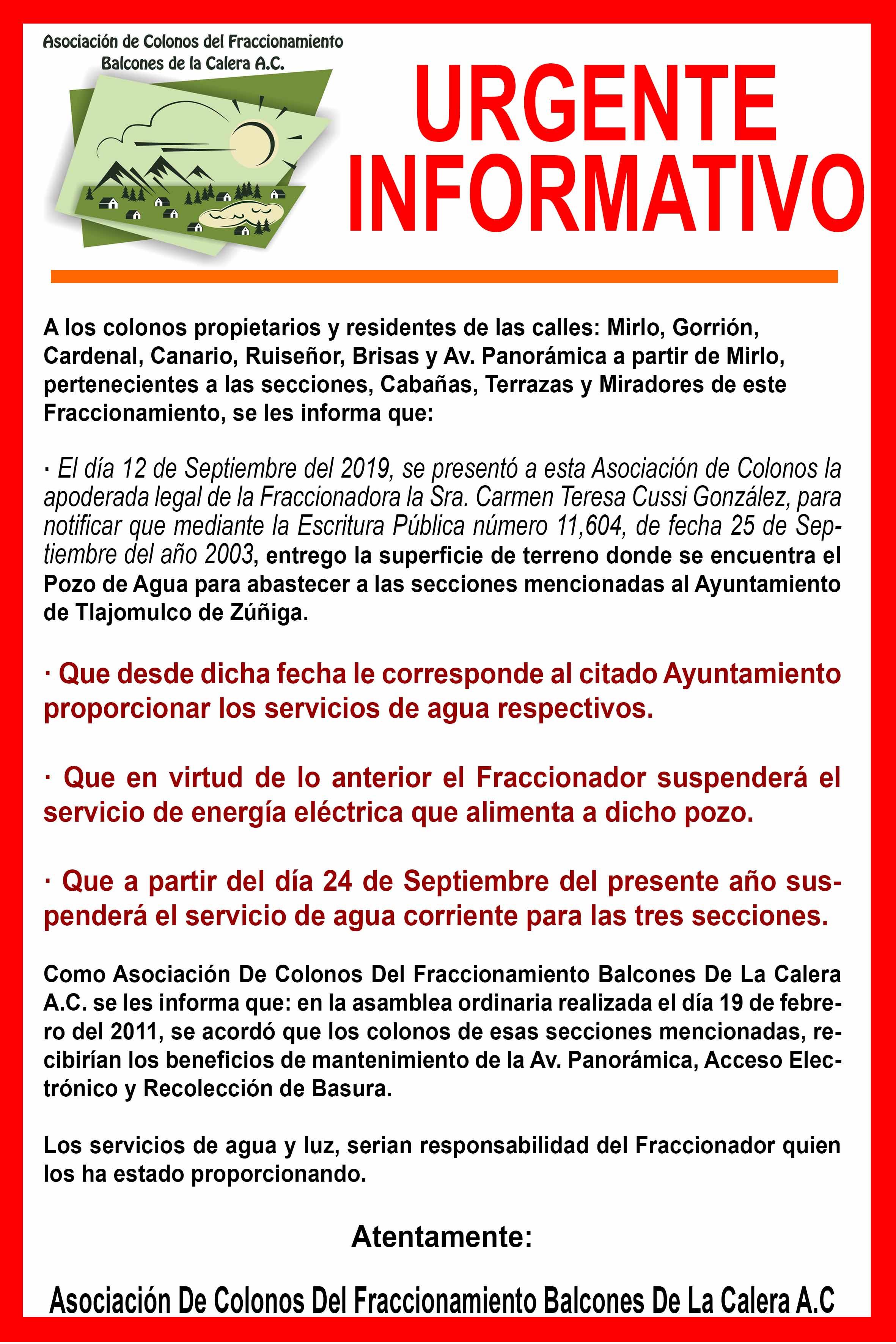 Fraccionamiento Balcones De La Calera Página Oficial